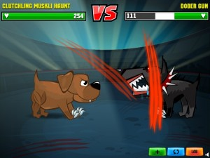 flash-игра Mutant Fighting Cup