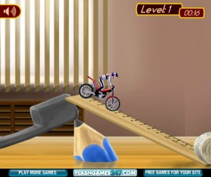 flash-игра Bike mania 4 Micro