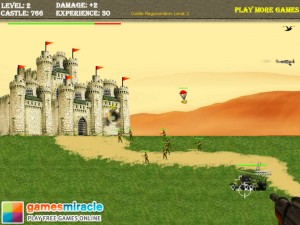 flash-игра Green beret castle assault