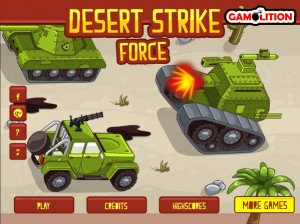 flash-игра Desert Strike Force