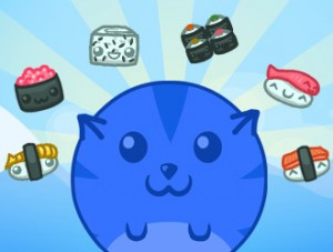 flash-game: Sushi Cat 2