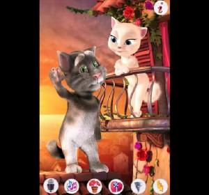 flash-game: Talking Tom Cat 4